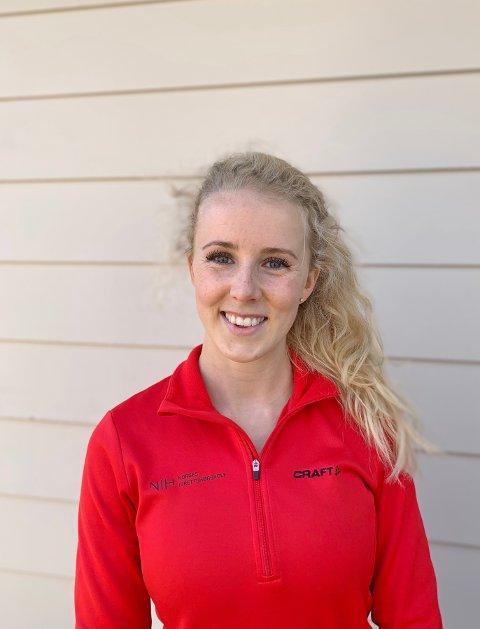 TRENINGSGLAD: Pernille Lund løper friidrett for Bækkelagets SK og for skolelaget ved Univeristetet i Ottawa. Nå gir hun deg syv øvelser du kan gjøre hjemme.