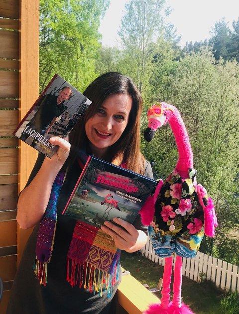 Første bokprosjekt for hommelvikingen Nina Hanssen var «Lagspiller'n» om Åge Tovan, ordfører i Lørenskog hvor hun selv er bosatt. Nå handler det imidlertid om miljøet vårt i «Den siste flamingo».