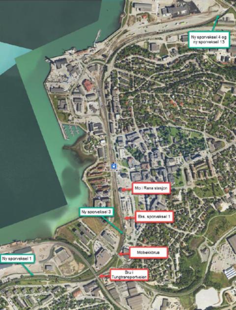 Sammen med sporforlengelse på Dunderland, sporarbeider i Bodø og innføring av nytt digitalt signalanlegg ERTMS, vil dette medføre en betydelig oppgradering av sikkerhet, kapasitet og fleksibilitet på Nordlandsbanen. Foto: Multiconsult
