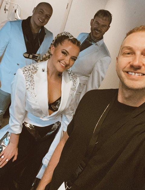 Tapte, men drar likevel: Det blir tur til Eurovision Song Contest for Christoffer Gunnestad og KEiiNO til tross for at sistnevnte måtte se seg slått av TIX i den norske finalen tidligere i år.