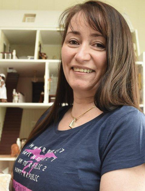 Trine Angelsen har solgt mer enn 15 millioner bøker. Nå er hun snart klar med en ny romanserie.