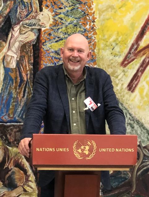 Svein Olav Hoff skal fredag holde foredrag om maleren Henrik Sørensen, i den europeiske FN-hovedstaden Genève i Sveits.