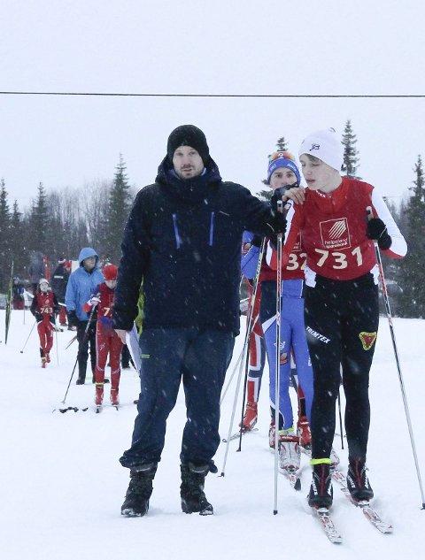 Martin Vatshaug som starter i fjorårets romjulsrenn på Sjåmoen. I år håper han å kunne starte på Granmoen. Foto: Per Vikan