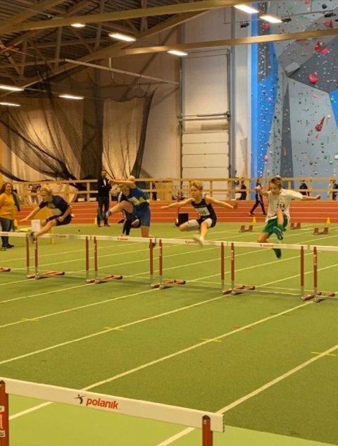 Siver løp inn til 2. plass på 60 m hekk