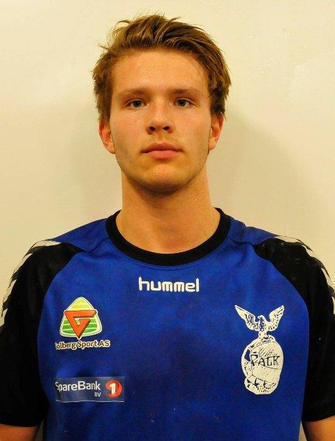 SATT FERGE-FAST: Elitehåndballspiller André Tuzov slapp ikke ute av Bastø-ferga uten videre fredag kveld.