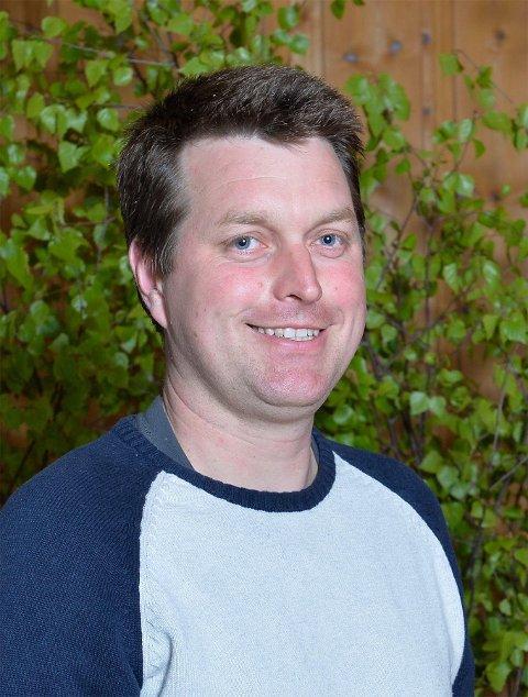 LEDER: Morten Moland er ny leder i Kragerø Senterparti.