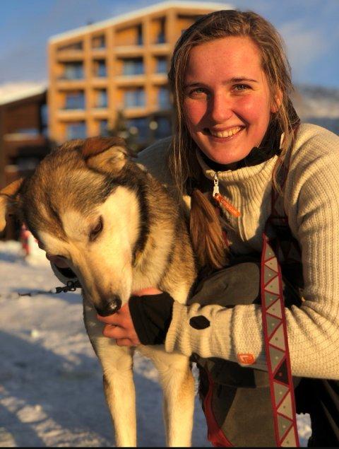 Anette Børve Hernes er hundekøyrar og student.
