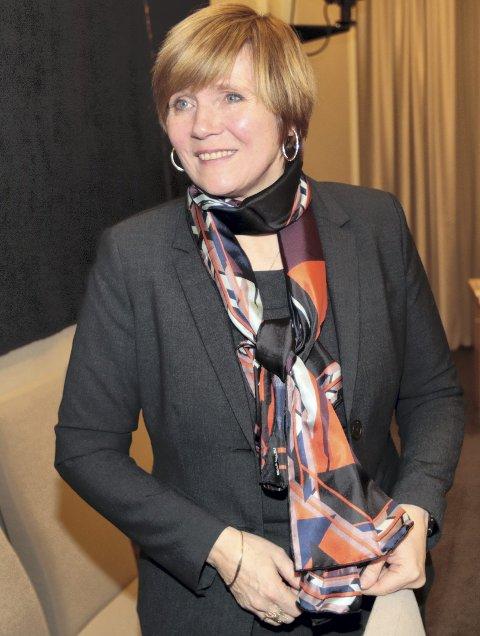 Christine Meyer fikk en oppreisning da stortingsflertallet vedtok «sterk kritikk» mot Siv Jensens håndtering av SSB-saken, som endte med at direktør Meyer gikk av. FOTO: NTB scanpix
