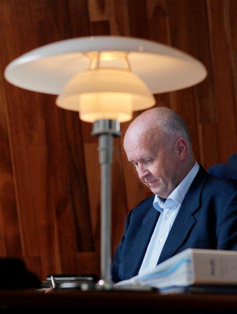 KONSERNSJEF: Olav Linga og Haugaland Kraft har resultatet for 2020 klart.
