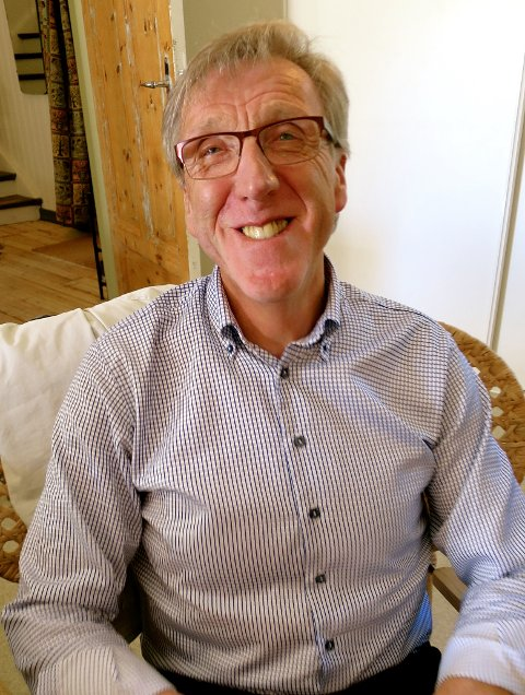 BLID: Ivar Østegården og kona Magny koste seg på jazzkonsert.