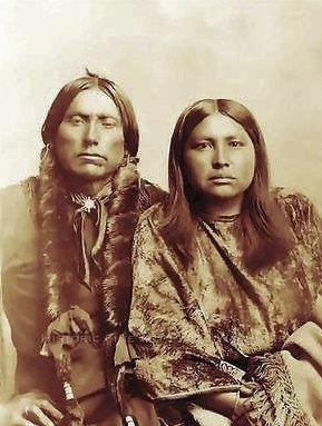 Etter å ha funnet sitt faderlige opphav i Amerika, fant Jan ut at tippoldefaren var indianer (bildet) og han selv er sekstendels Comanch-indianer.Foto: Privat