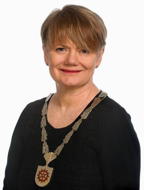 ØKER MEST: Lørenskog-ordfører Ragnhild Bergheim kan igjen notere solid vekst i folketallet.