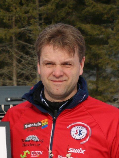 NYVALGT: Morten Gjessing fra Sande er ny leder i Holmestrand Idrettsråd.