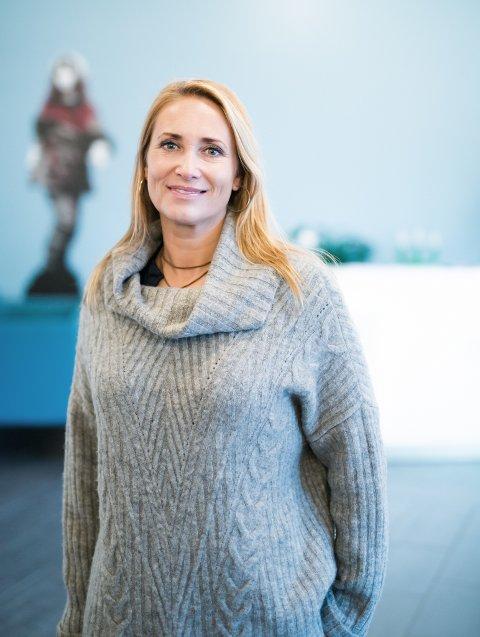 Kristine Stokke, daglig leder Stine Sofie Senteret