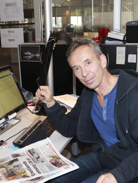 Nyheter: – Vi skal fortsatt satse på lokale nyheter, sier redaktør Rune Pedersen.