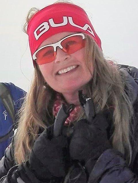 Fant mannen: Laila Haugland fra Ytre Arna er glad for at hun fant mannen som hjalp henne etter at hun falt i et myrhull med skia på nær Raudalen før jul.