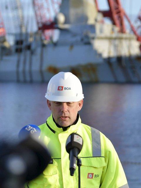 Anders Penna slår fast at det fortsatt gjenstår mye krevende arbeid.