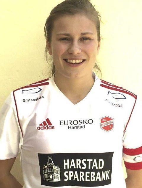 Skrekkblandet fryd: Cesilie Andreassen er spent på å flytte til ny by og ny klubb, men på en god måte.foto: Arkiv