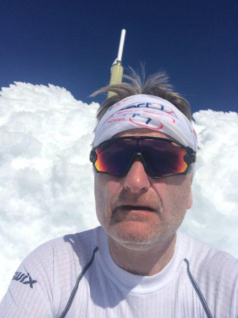 Geir Østgårdsgjelten har utallige mil bak seg på ski, sykkel og på beina. Lørdag ble kroppen testet skikkelig.