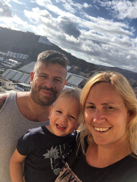 Kathrine Fromreide fra Bergen bor i Puerto Rico på Gran Canaria sammen med kjæresten Eric Giovanni Allende og sønnen Aaron (2,5 år).