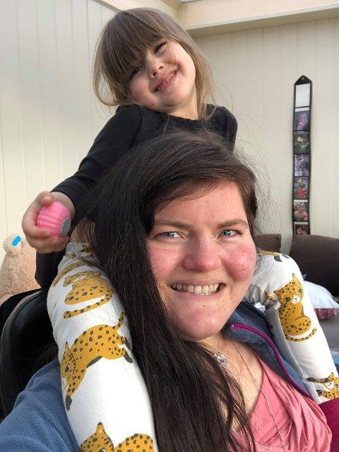 BARNEVERN: Kristina Aamodt Fjelde er ei av mange som har vore i kontakt med barnevernet.