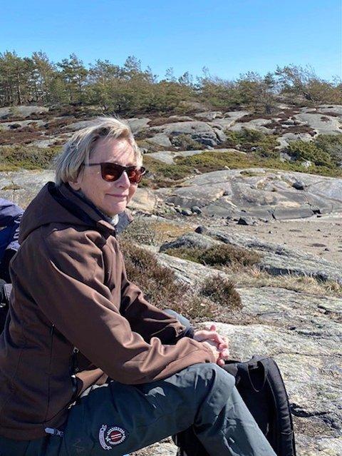 Grethe Maria Vikan ser frem til å instruere eldre i styrke- og balanseøvelser.