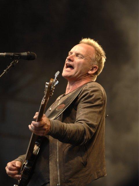 KOM: Gordon Sumner kommer til Hamar, vi kjenner ham som Sting. Nå settes det opp buss fra Kongsvinger.FOTO: VIDAR RUUD, ANB