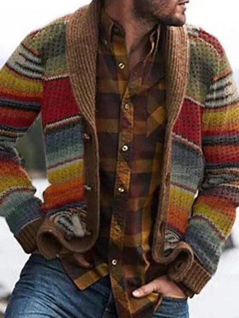 BESTILTE DENNE: Denne strikkejakken bestilte Gunnar Andersen på Facebook. Det han fikk i posten, så langt i fra sånn ut.
