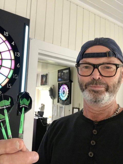 Lars Magnusson er klar for dart i Kongsvinger - er du?