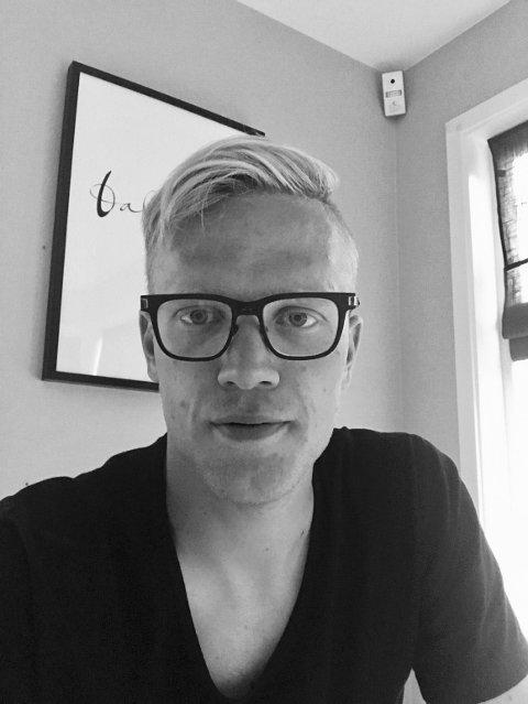 REKTOR: Mads Holterbakken (29) er ny assisterende rektor ved Lunner ungdomsskole.