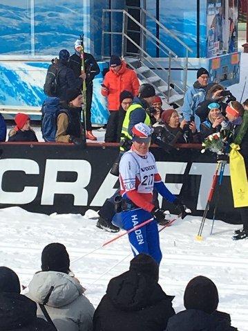 BESTE PLASS: Med 479. plass gjorde Arnt Edvin Andersen sitt beste Vasalopp, selv om han har gått fortere før.