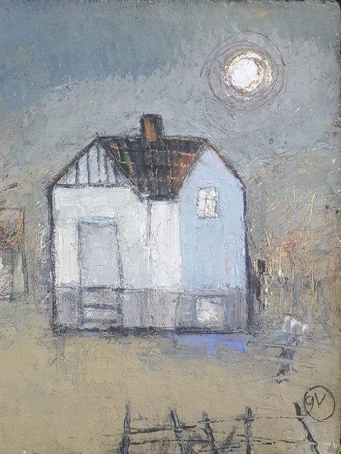 GALLERI GIGA:  Gunn Vottestad stiller ut malerier og trykk av hus.