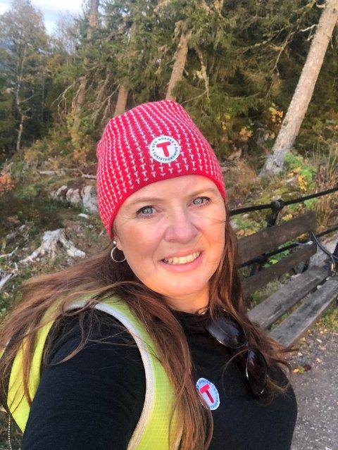 FRILUFTS-ÅRET: Birgit Vildalen er glad for at folk bruker friluftslivet når andre muligheter blir borte. Foto: Privat