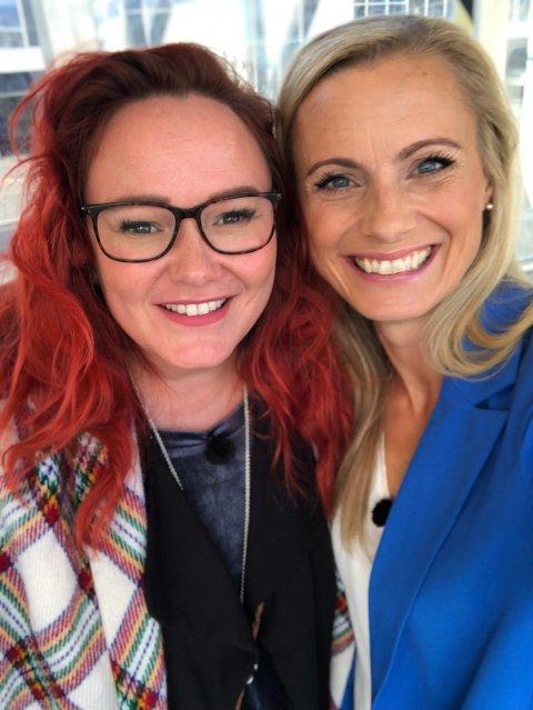 TV-KLARE: Komiker Trine Lise Olsen og Silje Sandmæl blir å se på TV3 tirsdag.
