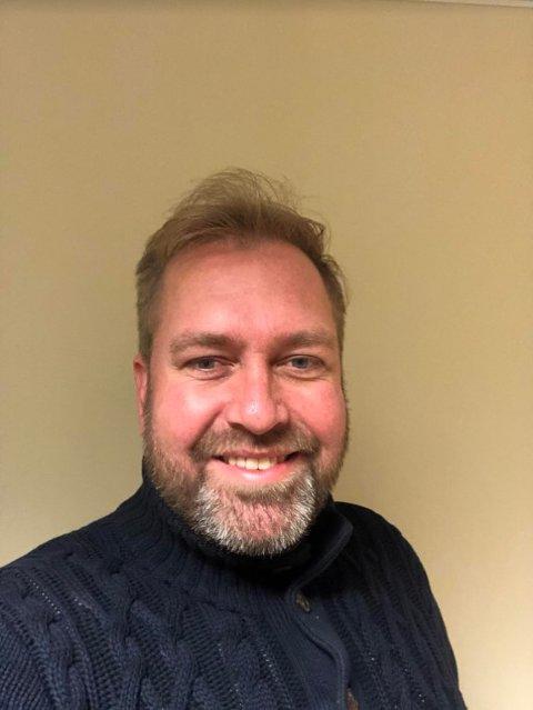 NY JOBB: Jon-Erik Vollan er klar for nye utfordringer i Inderøy Utvikling i januar.