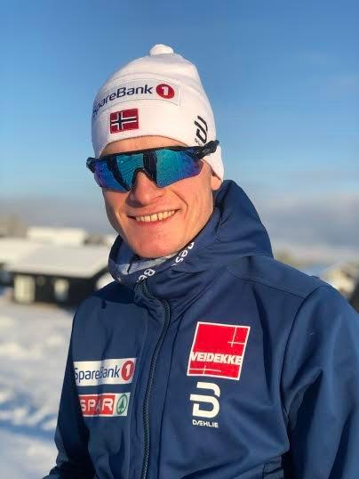 KJEMPELØP: Eirik Sverdrup Augdal var bare fem sekunder fra pallen på Beitostølen.