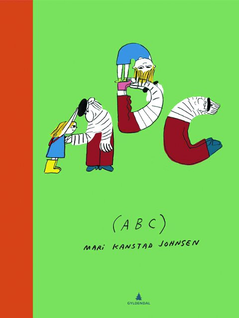 """ABC""; av Mari Kanstad Johnsen."