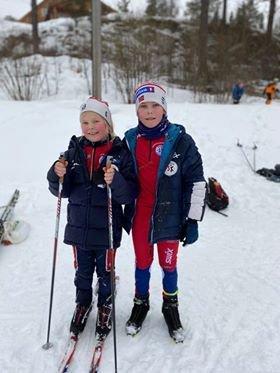 Kristiane Sundve, J9, og Hans Øyvind Sundve, G12