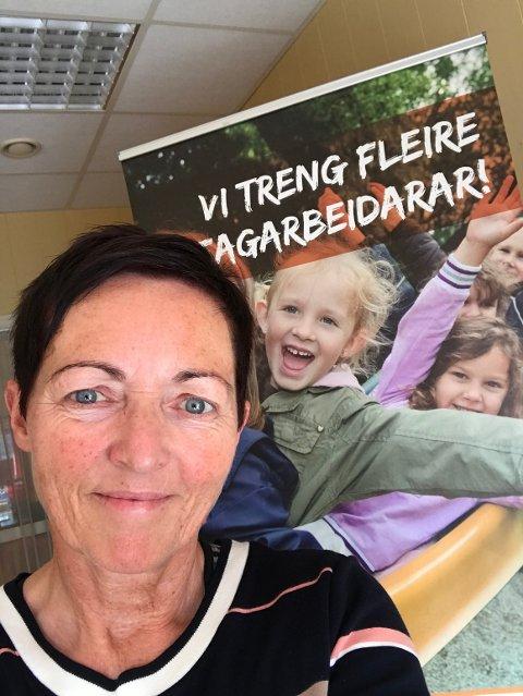 LÆRLINGER: Det er ennå mulig å få seg lærlingplass i Ryfylke forteller opplæringskonsulent Bente Kjos-Wenjum i RYTOPP. (Foto: privat)