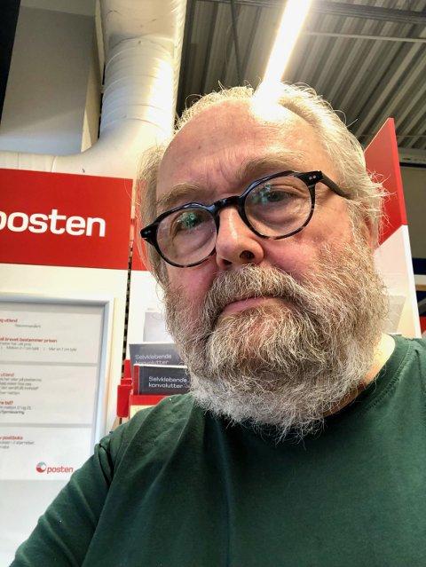 - LØGN: - De juger, jeg var hjemme, sier Toralf Sandåker som retter sterk kritikk mot Posten.