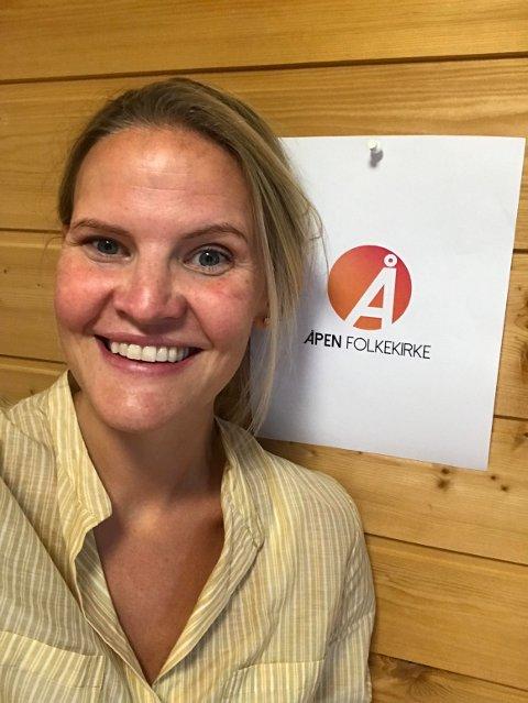 På valg: Marta Bjørnøy Lalim stiller på lista til Åpen folkekirke og håper hun kommer inn i Hamar Bispedømmeråd under valget 9. september.
