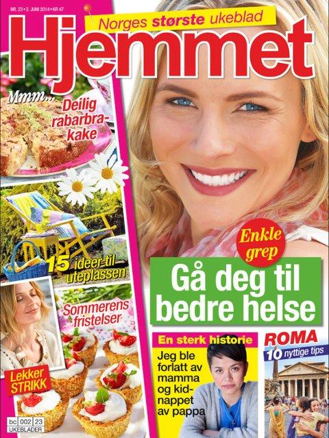 STØRST I LANDET: Anne Vestad gleder seg til å ta fatt på arbeidet med ukebladet Hjemmet.