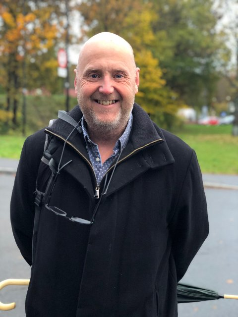 Hans Petter Treider slutter som kulturarbeider på Ullerud Helsebygg.