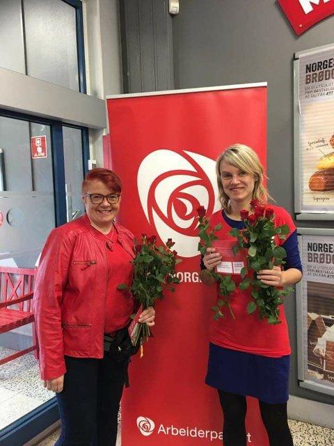 Rita Hirsum Lystad og Nina Sandberg