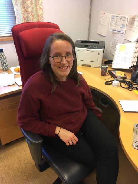 NY JOBB: Malin Elisabeth Floor begynner i ny stilling som kommuneoverlege i Os 1. november neste år.