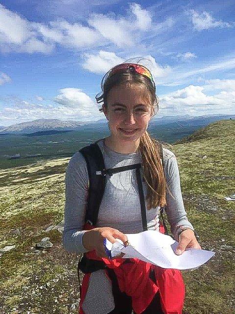 Markerer seg: Ingeborg Østgård fra Dalsbygda.