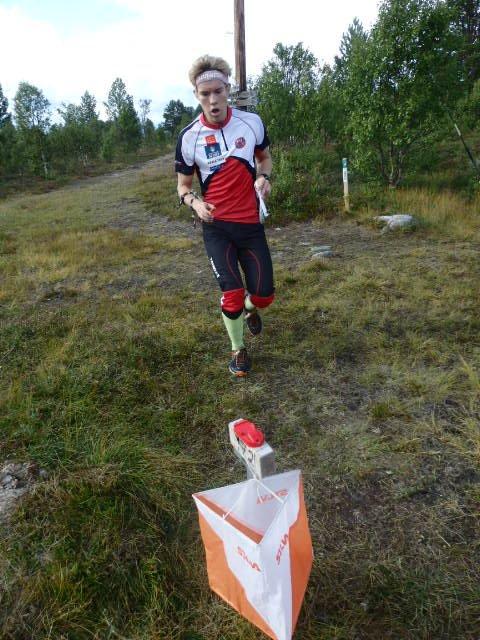 STØDIG ORIENTERTE Gaute Kvittum Nytrøen Tynset inn til seier i H17-20.