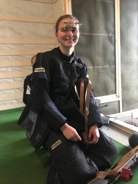 Ingrid Jensløkken vant juniorklassen med 350 poeng.