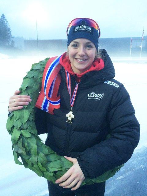 ASKER-JENTE: Ida Njåtun.