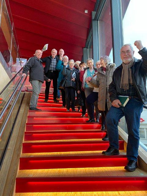 FØDT UNDER KRIGEN: Totalt bor det 70 personer i Flekkefjord i dag som er født i 1942 og av disse var det 28 fra denne årgangen som meldte seg på